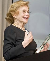 Dr. Millie Hanson at the 2008 Rashbaum Awards